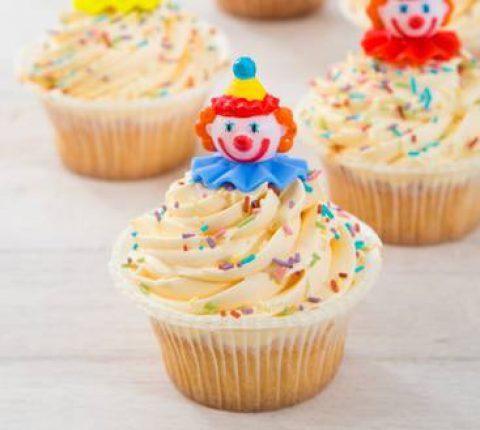 Kinderfeestcupcakes