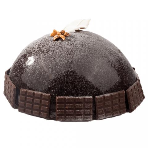 Chocolade bombe bavarois Bezorgen