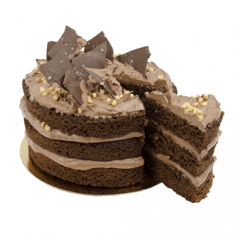 Chocolate Salted Layer Cake Bezorgen
