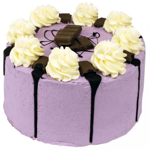 Purple Milka Crunch Layer Cake Bezorgen