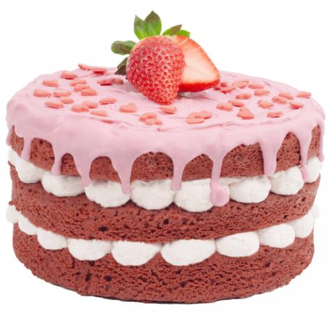 Strawberry Love Cake Bezorgen