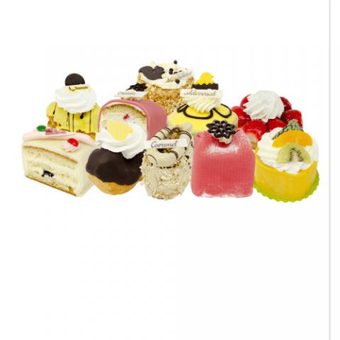 Gesorteerde gebakjes Bezorgen