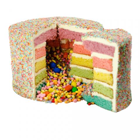 Rainbow Layercake Bezorgen