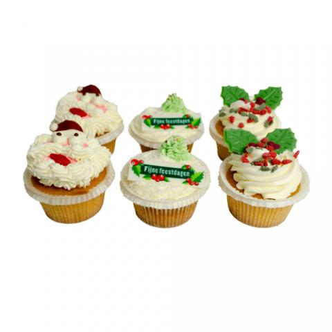 Kerst Cupcakes Bezorgen